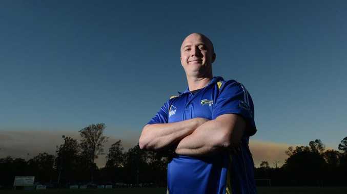 Western Spirit coach Darren Hillier