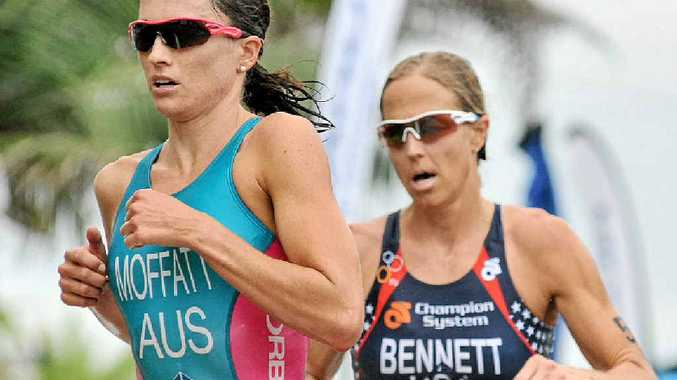 Former world champion triathlete Emma Moffatt tops the list of the Coffs Coast's best sporting stars of the past decade.