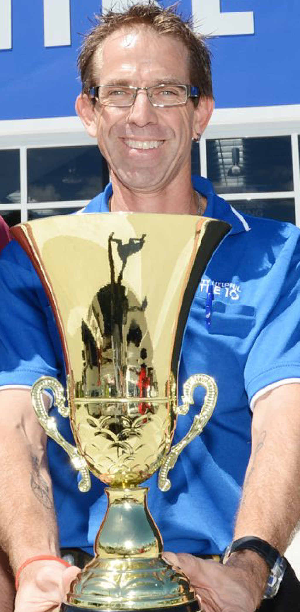 Sunshine Mitre 10 manager Robbo McInnes is looking forward to today's final.