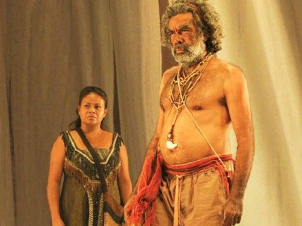 A DISTINGUISHED CAREER: Roy Gordon as Yalamundi, the Storyteller in The Secret River.