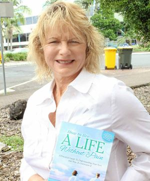 PAIN FREE: Lismore physiotherapist, nutritionist and author, Verona Chadwick, launches her new book, How to Live a Life Without Pain, next Thursday, March 21, at The Lismore Workers Club.