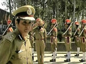TOUGH ROLE: Indian police officer Kiran Bedi is the extraordinary subject of the film Yes Madam, Sir.