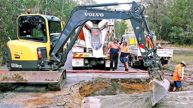 Two hundred Sunshine Coast road maintenance workers face leaving the Coast or the sack after more LNP Government cost cutting.