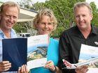 MEMBER BASE: Tourism Noosa's Damien Massingham, Pru Saimoun, Anthony Favelle.