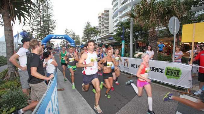 The Mooloolaba Twilight 5km run. Photo Darryn Smith / Sunshine Coast Daily