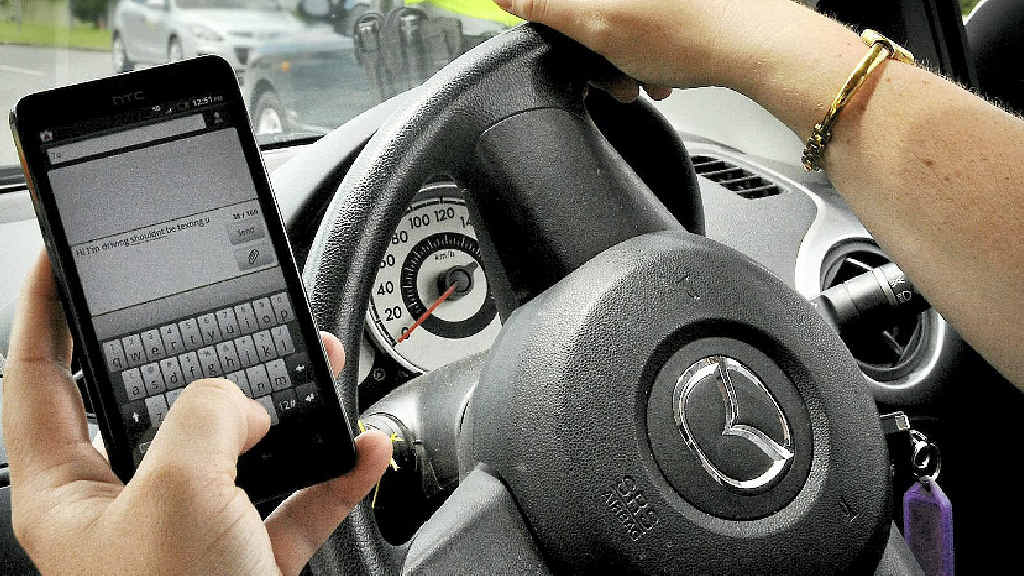 STOP: Texting while driving is a deadly distraction, police say.