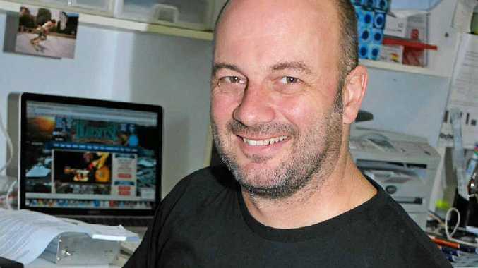 PLENTY OF RHYTHM: Marty Jones, Managing Editor of Rhythms Magazine.