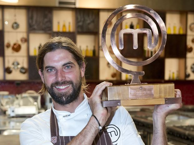 Rhys Badcock is the king of the MasterChef kitchen.