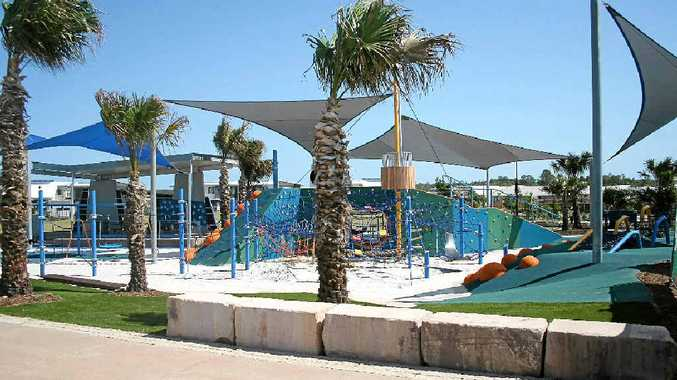 MORE FACILITIES PLANNED: The new adventure playground at Stockland's Bells Reach housing estate.