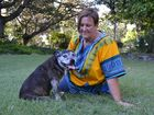 Esk resident Vivien Macbeth with her beloved pooch, Tika.
