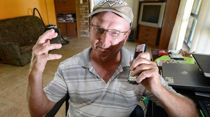 Walloon resident Milton Smyly has been without a home phone for two weeks and has been trying to get Telstra to fix it.
