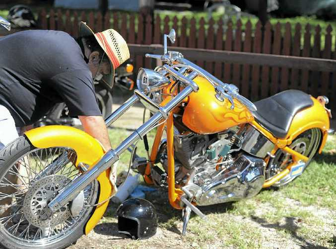 A chopped Harley went on many wish lists.