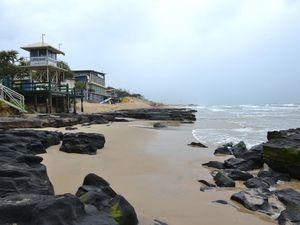 Maroochydore beach erosion