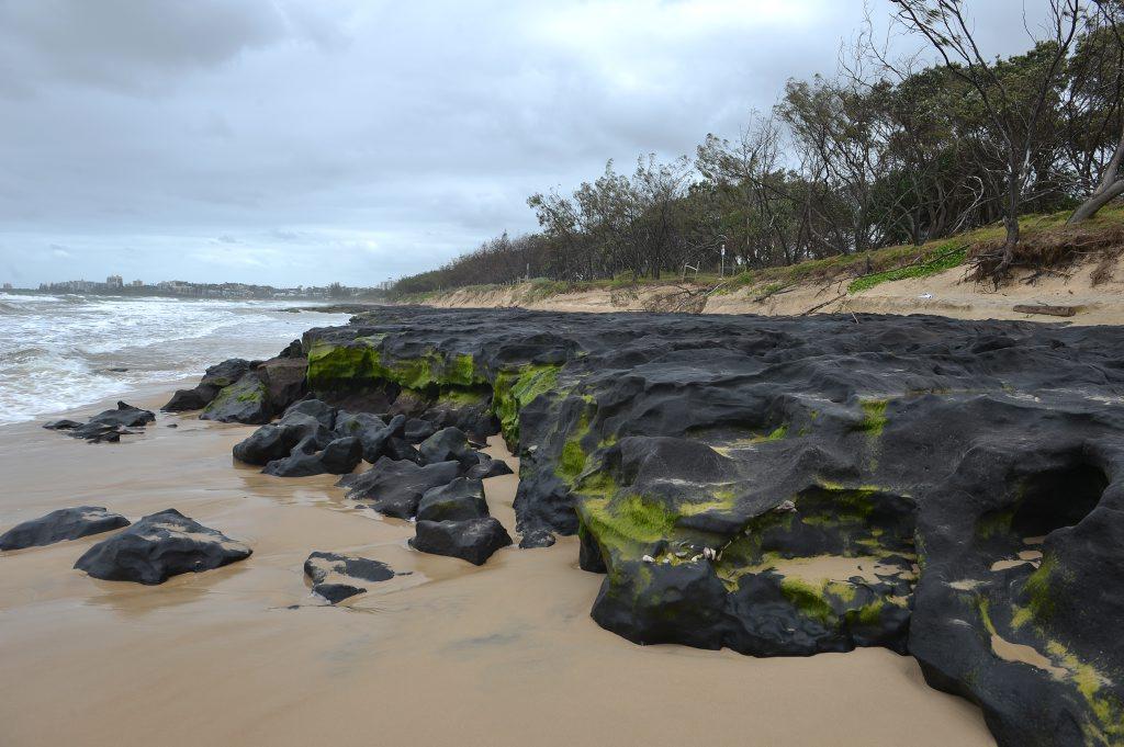Maroochydore Beach earlier this week.