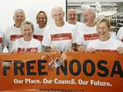 POST DE-AMALGAMATION: Former SSC and Noosa Mayor Bob Abbot beleives council staff should have first choice of Noosa council jobs.
