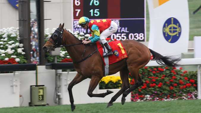Zac Purton already has 40 wins next to his name in the race for the Hong Kong jockey's premiership.