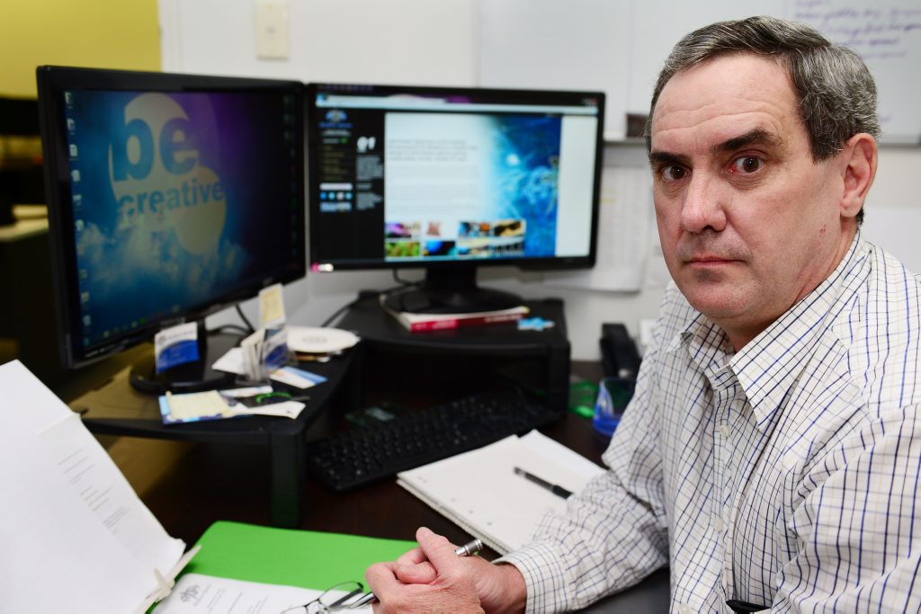 Noel Sorensen, principal of Adz Power Agencies in Rockhampton is warning businesses of bogus invoices circulating in the region. Photo Sharyn O'Neill / The Morning Bulletin