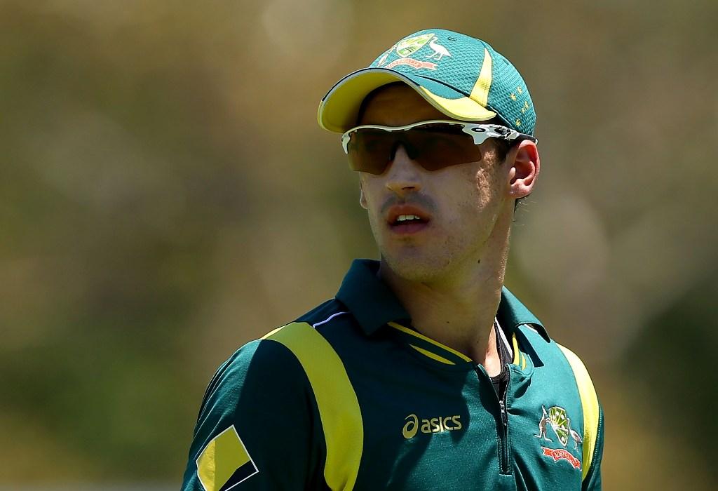 Australian cricketer Mitchell Starc.