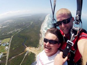 Mum takes her leap of faith for diabetes cure