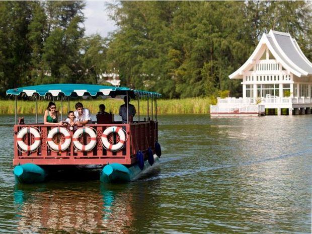 The Laguna Phuket inter-resort ferry.