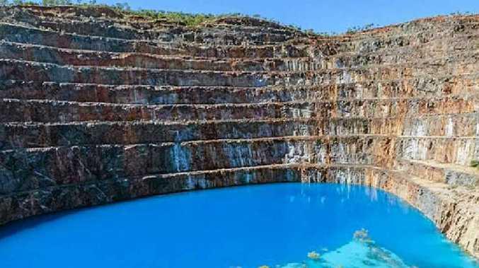URANIUM EFFECT: The rehabilitated Mary Kathleen mine.
