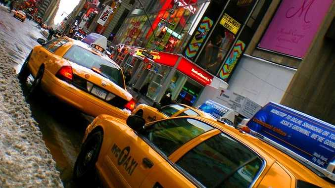 Taxis are a popular way to get around New York City.