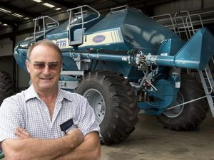 Massive machine helps seeding out Moree way