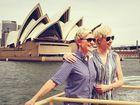 Ellen DeGeneres and Aussie wife Portia de Rossi in Sydney.