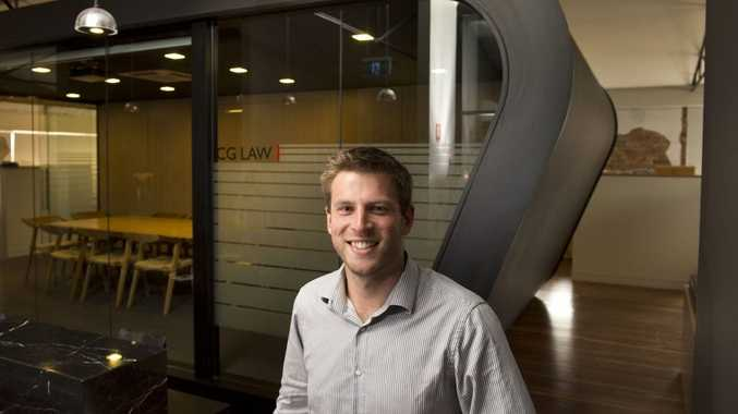 Ben Favaro from Clifford Gouldson Lawyers is loving the Toowoomba lifestyle.