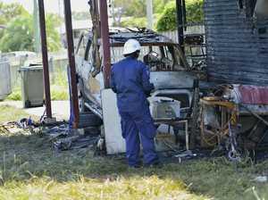 Barney Pt fire investigation