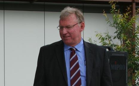 State Development Minister Jeff Seeney