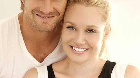 SHANE Watson with wife Lee and their new baby Will.