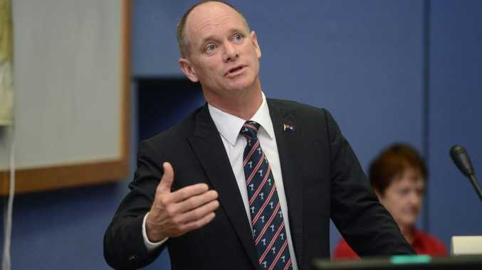 "Premier Campbell Newman said he would travel to Canberra ""very cautiously""."