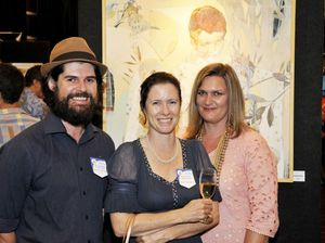 Local talent shines at Grammar Art Show