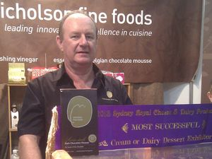 Showtime for fine food champ