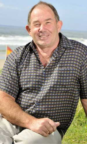 RECOGNITION: Bravery award recipient Brian Dell, who rescued two people off the rocks at Lennox Head.