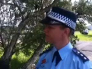 Police media at Lismore Airport crash