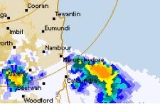 THE BOM radar as of 8pm.