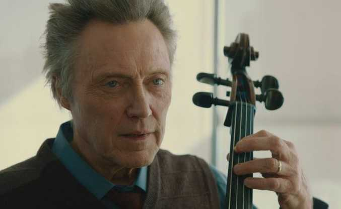 Christopher Walken in a scene from the movie A Late Quartet.