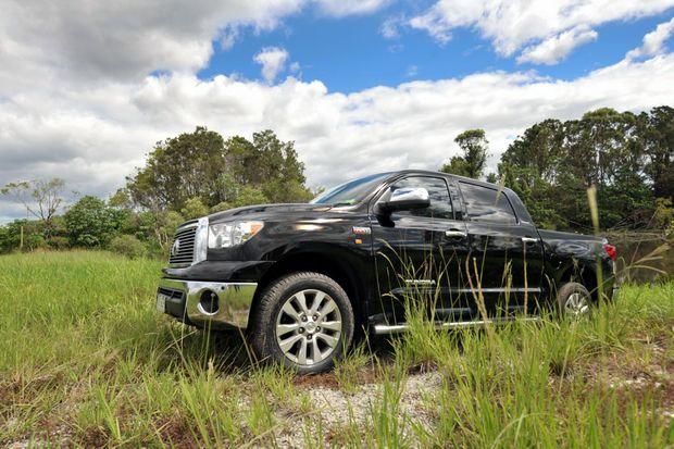 The Performax International Toyota Tundra.