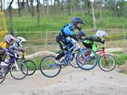 Riders enjoy track time at BMX club's night meet