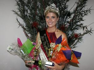Ally takes the Miss Warwick Showgirl crown