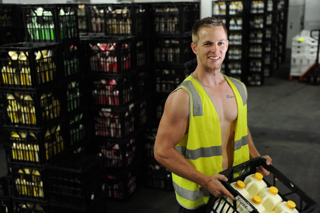 24-year-old Bradey Livermore is not only The Observer's Monday Male, he's also your milkman.