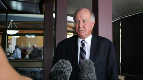 Independent candidate and former MP Tony Windsor
