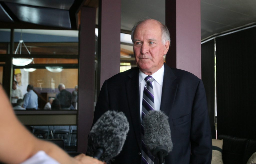 Federal independent MP Tony Windsor.