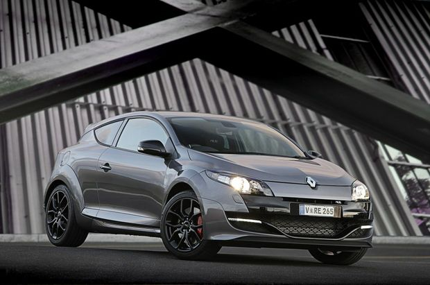 The Renault Megane RS265 Cup.
