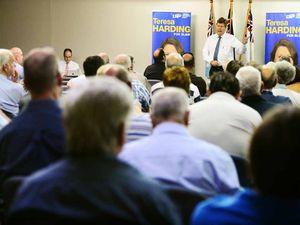 LNP candidate pledges to battle for veterans
