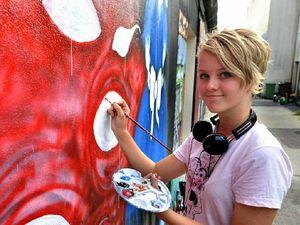 City laneways fill with vibrant art