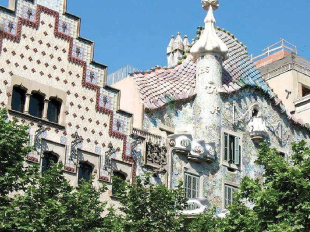 You will either love or hate Gaudi's architecture.