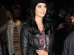 Katy Perry and Kristen Stewart party at Kids' Choice Awards